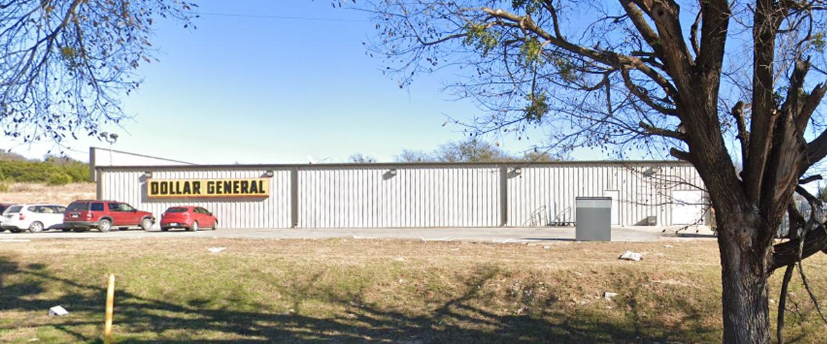 Dollar General (7992) – Hico, Texas Side back