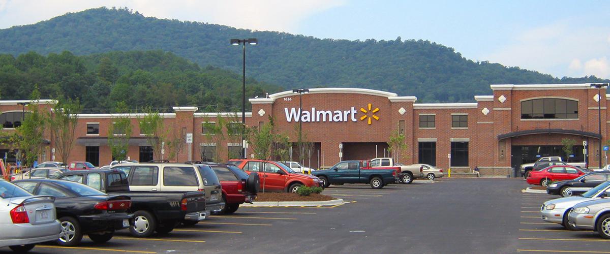 Forest Ridge Shopping Center – Asheville, North Carolina Walmart