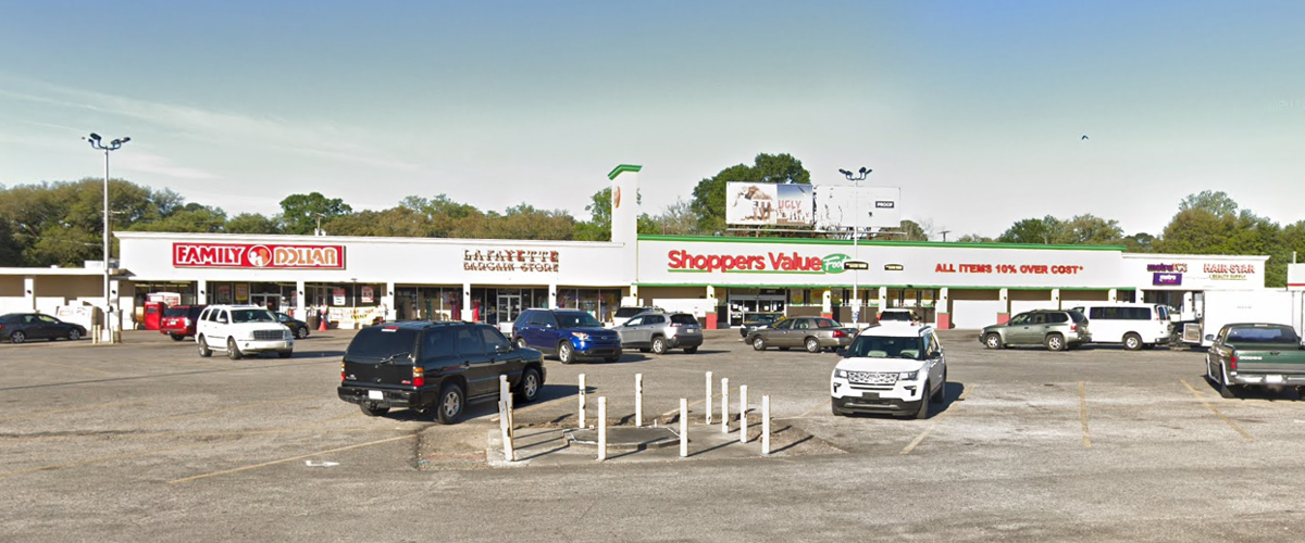 Four Corners Shopping Center – Lafayette Front