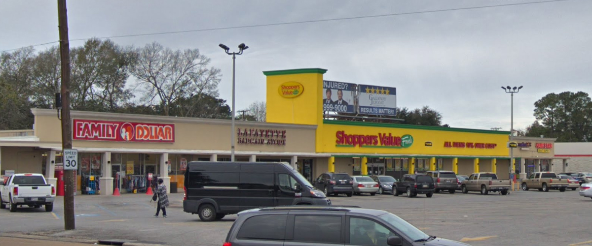 Four Corners Shopping Center – Lafayette Side