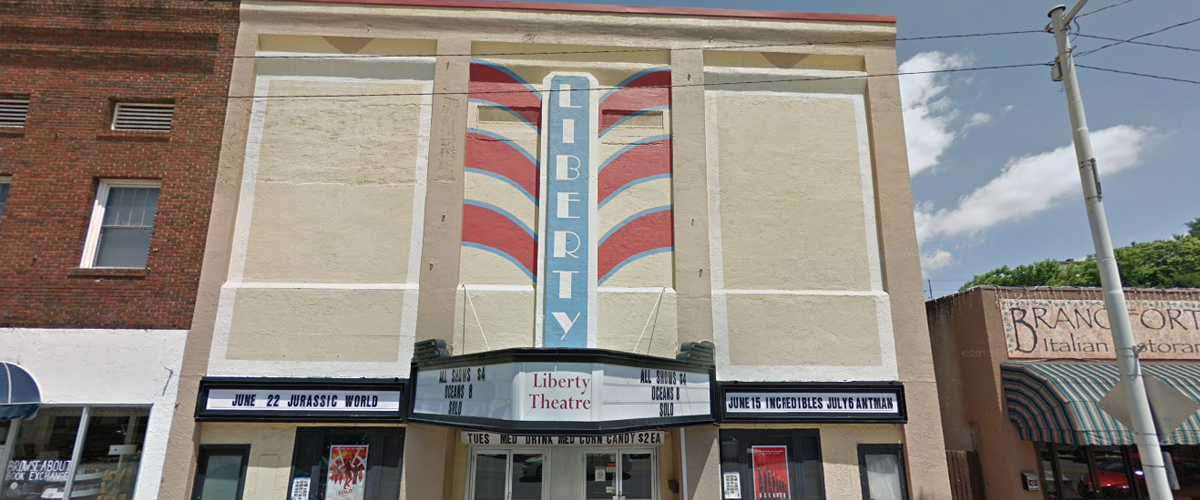 Liberty Theater – North Wilkesboro, North Carolina Front