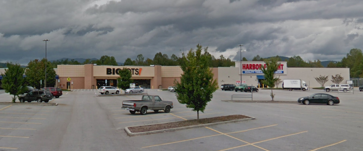 McDowell Square Shopping Center – Marion, North Carolina Right