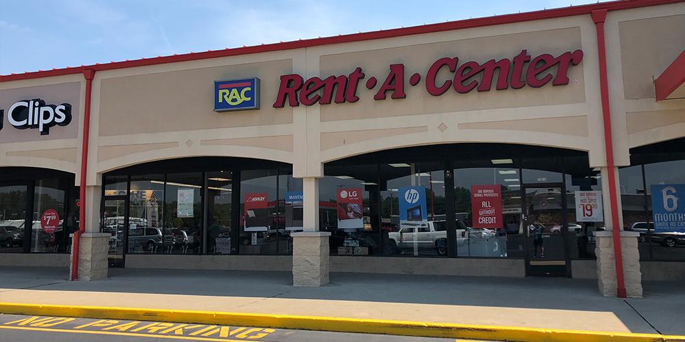 Trojan Plaza Shopping Center Rent a center